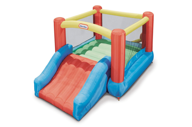 Bounce house - Little Tikes Jr. Jump 'n Slide Bouncer