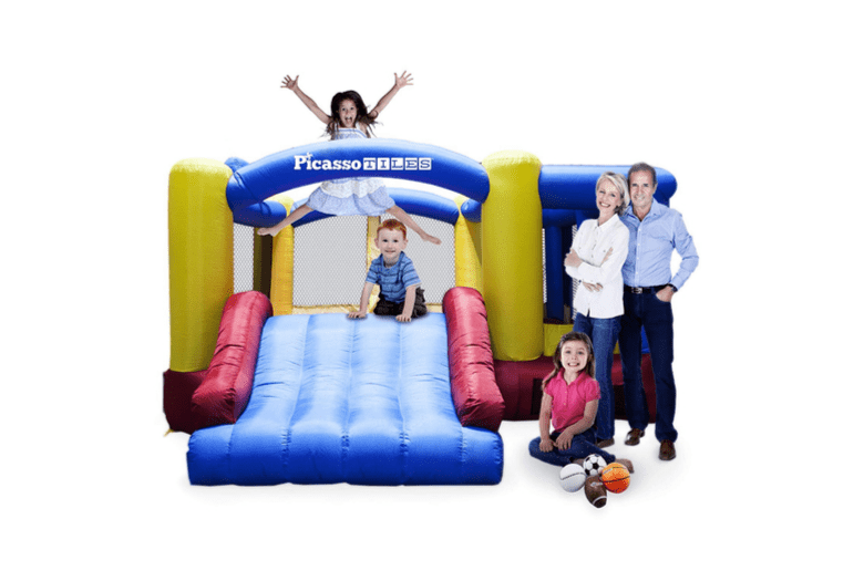 Bounce house from PicassoTiles