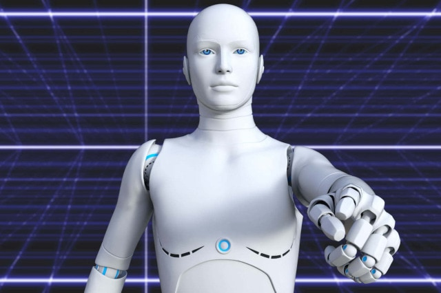 A robot that looks very human