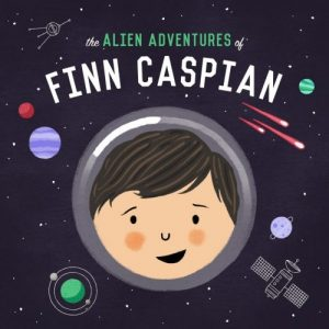 Podcasts For Kids - The Alien Adventures of Finn Caspian podcast logo