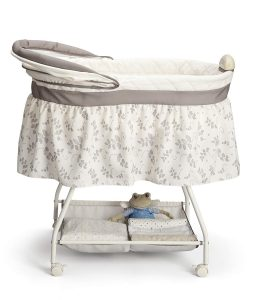 Delta Children Sweet Beginnings Bassinet folded