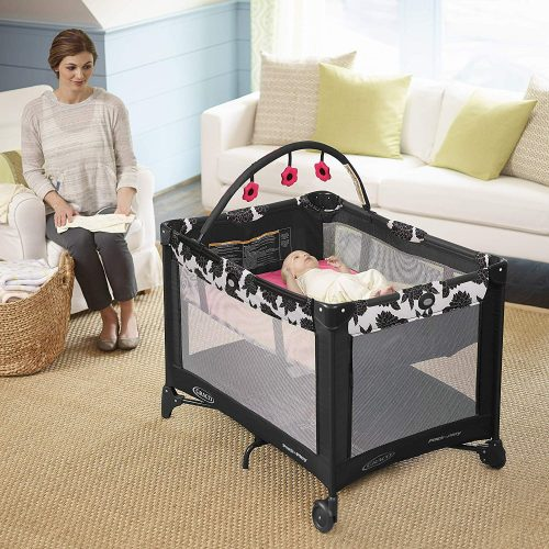 Graco Pack 'n Play On the Go Playard, Azalea