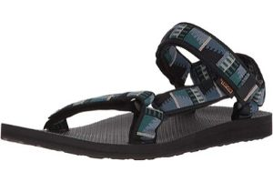 Men's sandals with arch support and colorful straps