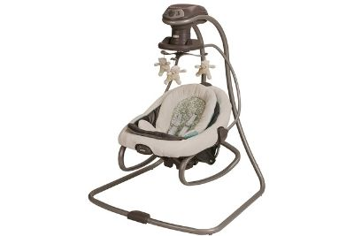 Infant and toddler swing and rocker