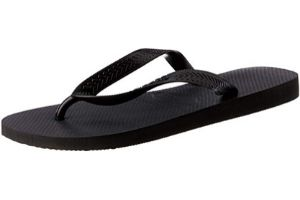 Black flip flop for women
