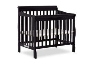 Black cribs for toddler and babies