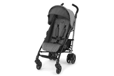 Grey baby stroller for babies and toddlers