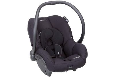 Car seat with padded sides for infants