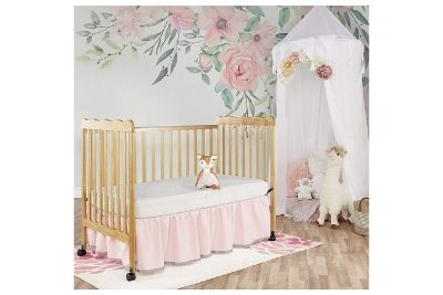 Toddler crib in a nursery