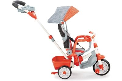 Orange and grey tricycle