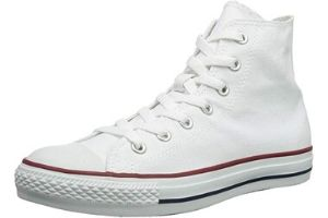 Classic all star high top white snickers for men