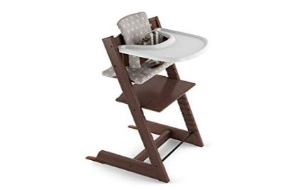 Chocolate highchair for babies