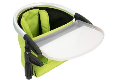 Apple highchair clip-on highchair with a tray