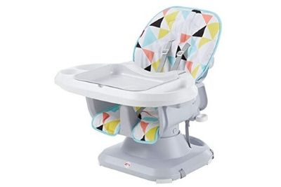 Mulit-colored highchair for babies and toddlers