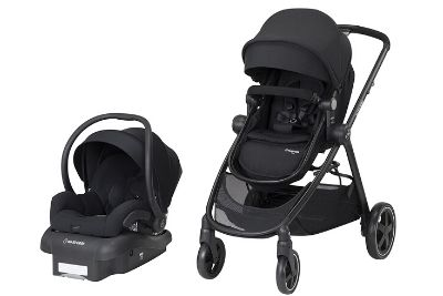Black baby and toddler travel system