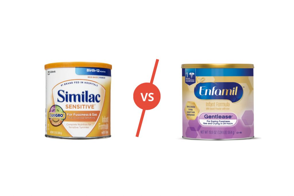 Similac vs Enfamil