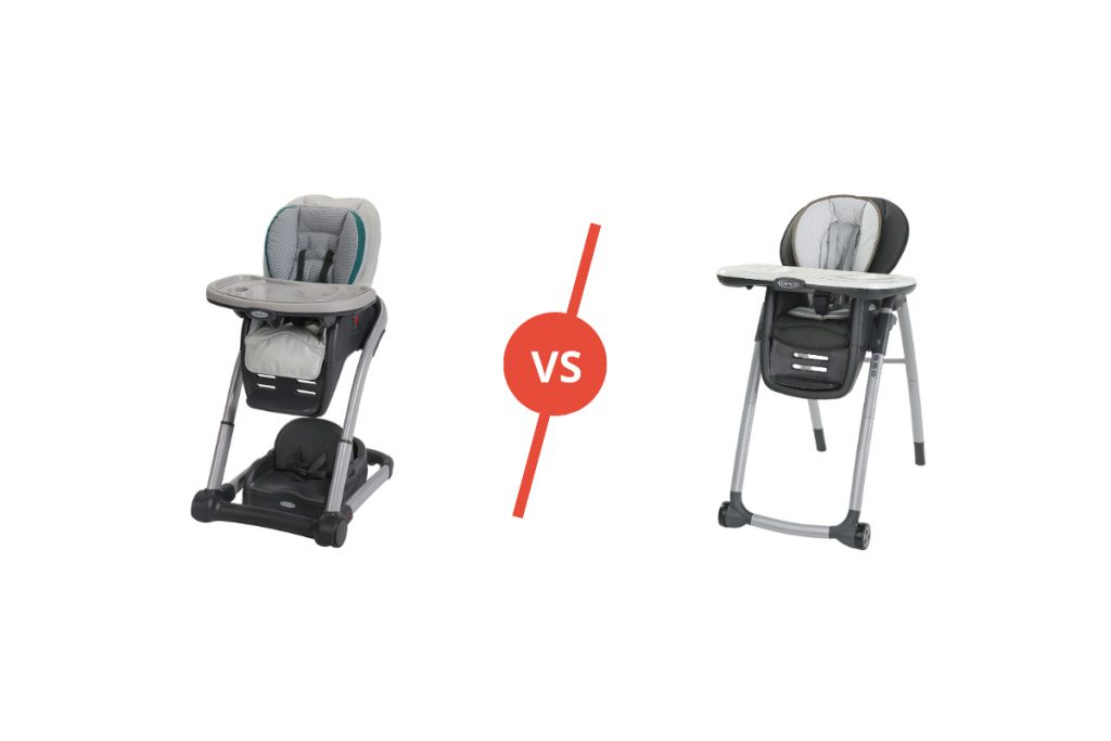 Graco 6 in 1 and 7 in 1 comparison
