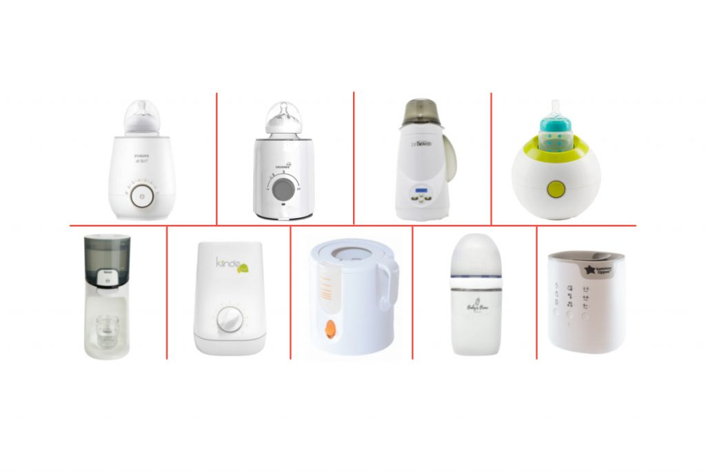 Warmer products comparison